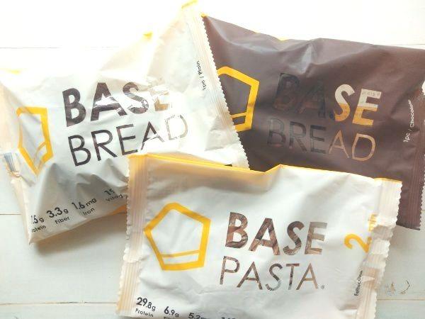 ベースフードのパンとパスタ