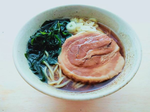 聘珍楼のチャーシュー麺