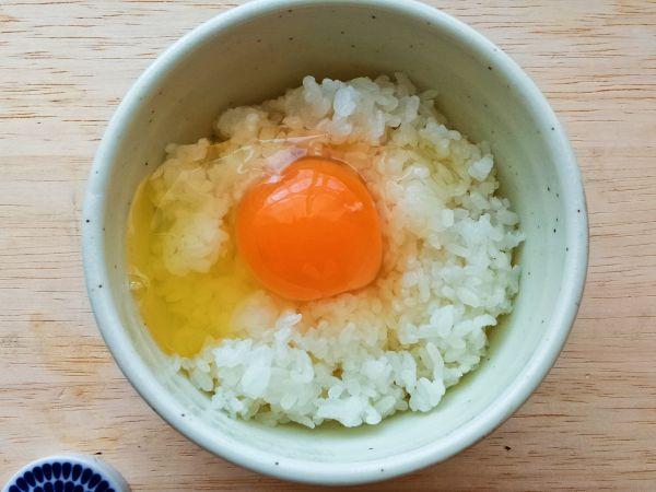 高橋エッグファームの卵かけごはん