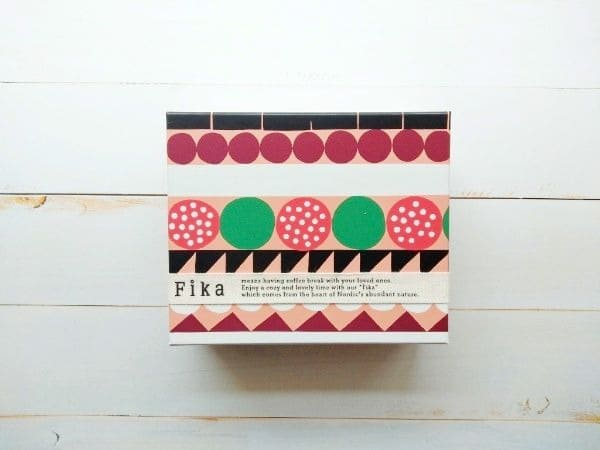 フィーカのクッキー箱