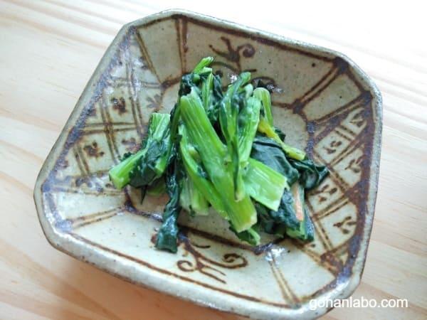 ナッシュ弁当(小松菜のクリーム煮