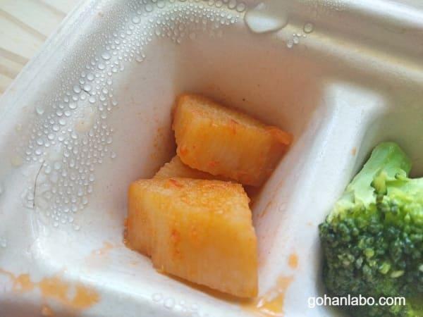 ナッシュ酢豚弁当(長いもの豆板醤炒め)