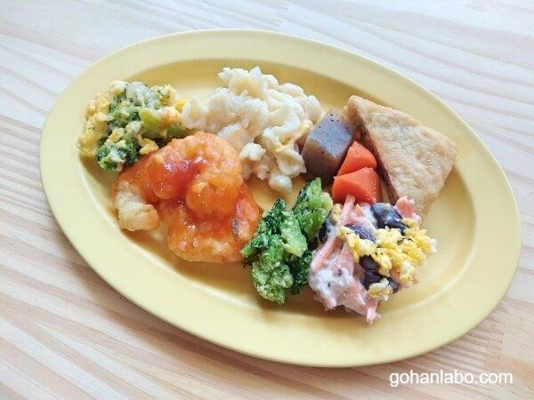 ワタミの宅食まごころおかずエビチリ(お皿)